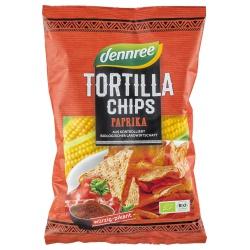 Tortilla-Chips mit Paprika