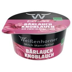 Frischcreme mit Bärlauch & Knoblauch