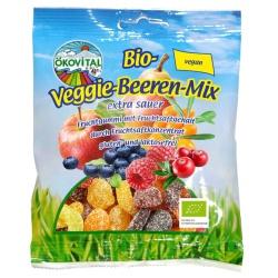 Fruchtgummi Beerenmix, vegan