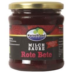 Rote Bete im Glas, milchsauer fermentiert