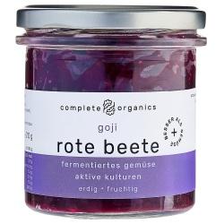 Rote Bete mit Goji-Beeren aus Bayern im Glas, milchsauer fermentiert