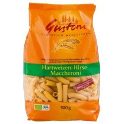 Hartweizen-Makkaroni mit Hirse, kurz