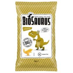 Mais-Snacks BioSaurus mit Käse