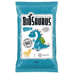 Mais-Snacks BioSaurus mit Meersalz