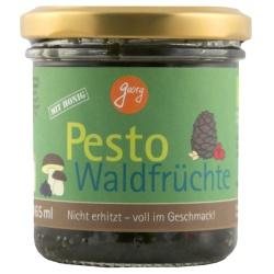 Pesto Waldfrüchte mit Maronen, Steinpilzen, Cranberries, Heidelbeeren & Nüssen aus Bayern