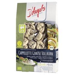 Vollkorn-Cappelletti mit Gemüse