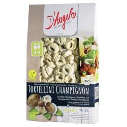 Tortellini mit Champignons