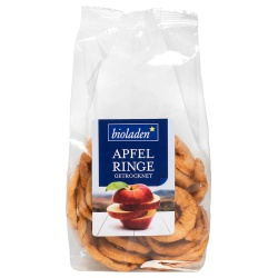 Apfelringe, getrocknet