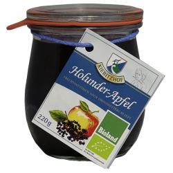 Holunderbeeren-Apfel-Fruchtgelee