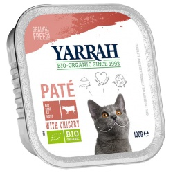Pâté mit Rind & Zichorie (für Katzen)