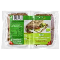 Vollkorn-Toast-Brötchen (4 Stück)
