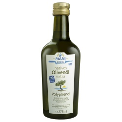 Olivenöl mit 350 mg/kg Polyphenolen, nativ extra