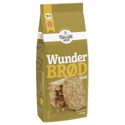 Brotbackmischung Wunderbrød mit Gold-Leinsaat, glutenfrei