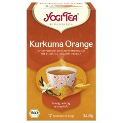 Yogi-Tee® Kurkuma & Orange im Beutel