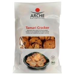 Reis-Cracker mit Tamari