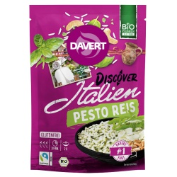 Italienischer Pesto-Reis