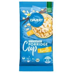 Porridge-Cup mit Vanille, glutenfrei