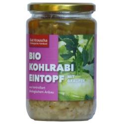Kohlrabi-Eintopf mit Graupen