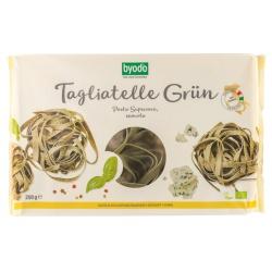 Hartweizen-Tagliatelle-Nester, grün