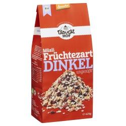 Dinkel-Müsli mit Früchten, ungesüßt