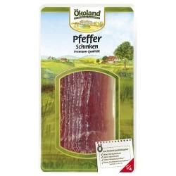 Premium-Pfefferschinken, geräuchert, geschnitten