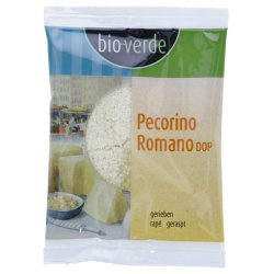 Pecorino Romano DOP, gerieben