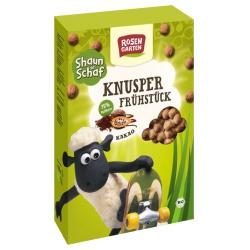 Knusper-Frühstück Shaun das Schaf mit Kakao-Knusperkugeln
