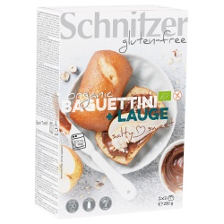 Laugen-Baguettinis zum Aufbacken, glutenfrei (4 Stück)