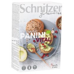 Panini-Vitalbrötchen zum Aufbacken, glutenfrei (4 Stück)