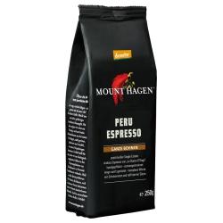 Mount Hagen Espresso aus Peru, ganze Bohne (Auslaufartikel)