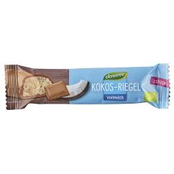 Kokos-Riegel in Vollmilchschokolade