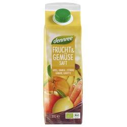Gelber Frucht- & Gemüsesaft