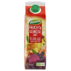Roter Frucht- & Gemüsesaft