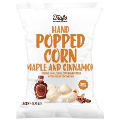 Popcorn mit Ahornsirup & Zimt