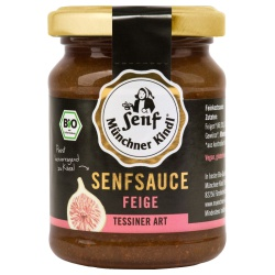 Feigen-Senfsauce