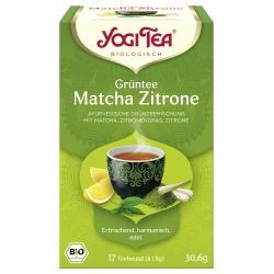 Grüntee mit Matcha & Zitrone im Beutel