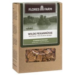 Wilde Premium-Pekannüsse von uralten Bäumen, halbiert