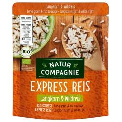 Express-Reis-Mischung mit Langkornreis & Wildreis