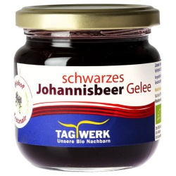 Schwarze-Johannisbeeren-Fruchtgelee aus Bayern