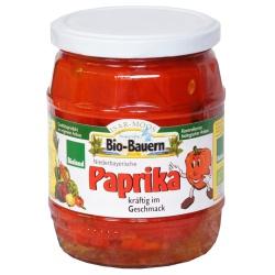 Paprika aus Bayern im Glas