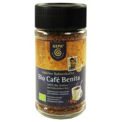 Instant-Kaffee Café Benita von lateinamerikanischen Kleinbauern