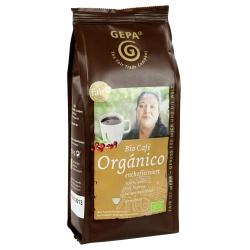 Café Orgánico von lateinamerikanischen Kleinbauern, entkoffeiniert, gemahlen