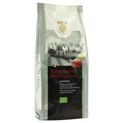 Original italienischer Espresso von indianischen Kleinbauern, gemahlen