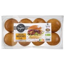 Mini-Brioche-Burger-Buns (8 Stück)