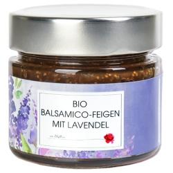 Balsamico-Feigen mit Lavendelblüten