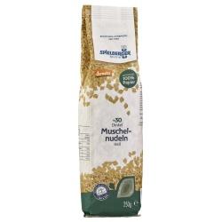 Dinkel-Muschelnudeln in Papierverpackung