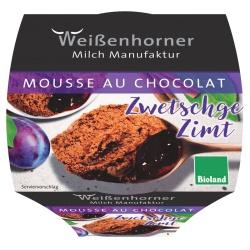 Mousse au Chocolat mit Zwetschge & Zimt