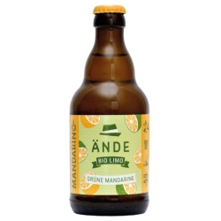Mandarino Verde mit grüner Mandarine MEHRWEG Pfand 0,08 €