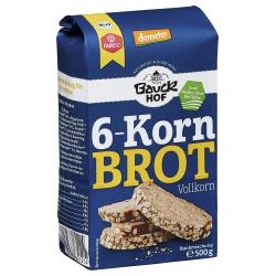 Sechs-Korn-Brotbackmischung