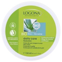 Hautcreme daily care mit Aloe Vera & Verveine